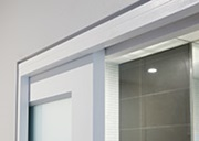 Cavity sliding door system