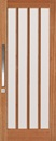 Corinthian Windsor Joinery Exterior Door Featuring 4 Vertical Light Panels