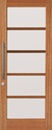 Corinthian Windsor Joinery Exterior Door Featuring  5 Horizontal Light Panels
